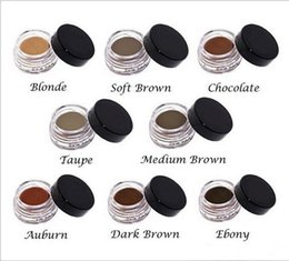 HOT Pomade Medium Brown Impermeable Maquillaje Cejas 4g Blonde / Chocolate / Brown / Ebony / Auburn / Medium Brown / TALPE