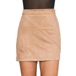 Discount Vintage High Waist Khaki Skirts   2017 Vintage High Waist ...