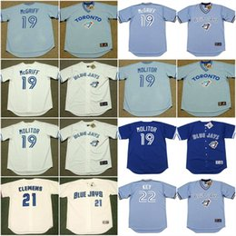discount blue jays cecil jersey mens toronto blue jays 19 fred mcgriff 19 .