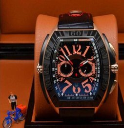luminous dial mens watches online luminous dial mens watches for 2017 luxury new mens conquistador line chronograph quartz stop green noodle watch white dial casual calendar luminous watch