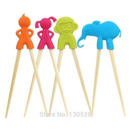 Wholesale Hot Children Baby Beginner Cartoon Style Easy Fun Learning For Kid Training Helper Chopsticks Tableware Kitchen Accessories Tool Children Kitchen