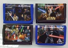 24pcs Fashion Cartoon Star Wars Coin Purse Children Zip Change Purse Wallet Gifts for the children in the party supplies from wholesale star wars party supplies manufacturers