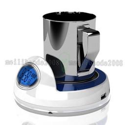 2017 Новый USB чай чашки кофе Кружка держать Подогреватель Нагреватель Pad с 4 USB портовый концентратор с времени и температуры для нанесения покрытий (LCD) MYY