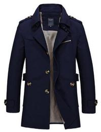 Black Wool Military Coat Online | Mens Military Wool Coat Black