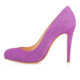 Purple Closed Toe Wedding Heels Online | Purple Closed Toe Wedding ...