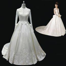 Discount Custom Made Wedding Dresses Usa   2017 Custom Made ...