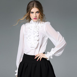 Sheer White Collared Blouse Online | Sheer White Collared Blouse ...