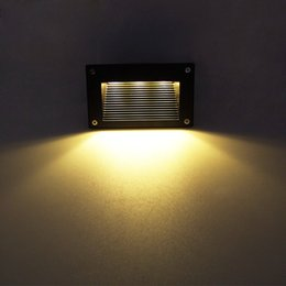New Recessed Led Floor Lights 3W 5W Stair Lighting Step Light Waterproof  Outdoor Wall Lamp 110130lm