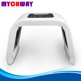 Portable 4 cores LED Light Rejuvenescimento da pele PDT Minimizar cicatrizes Beauty Lamp Photon Therapy máquina com 9 níveis