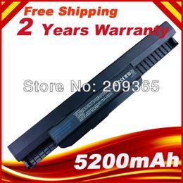 Оптово-A41-K53 A32-K53 6 ячеек К53 батарея для ASUS X54C X54H X54HR X54HY X54L X54LY ноутбуков