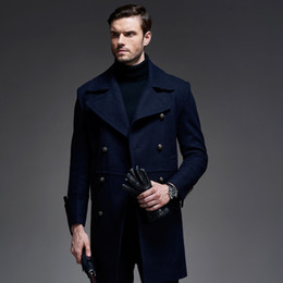 Peacoat Men Blue Wool Online | Peacoat Men Blue Wool for Sale