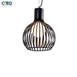 Online Shopping Modern Pendant Lamp Cage Light Fixture Suspension Lighting  Lamps Diameter Cm E27 AC110 V