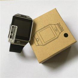 2017 Últimas Smartwatch DZ09 Bluetooth Smart Watch con tarjeta SIM para Apple Samsung IOS Android teléfono celular 1,56 pulgadas de relojes inteligentes