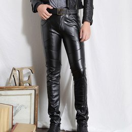 Discount Leather Pants Plus For Men | 2017 Leather Pants For Men ...