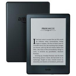 Vente en gros-Nouveau Kindle Noir 2016 écran tactile de la version, Logiciel Kindle, Wi-Fi 4Go eBook écran e-ink 6 pouces e-Book Readers