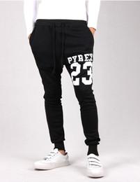 Wholesale,Pyrex sarouel baggy tapered bandana pant hip hop dance harem  sweatpants drop crotch pants men parkour sport track trousers inexpensive  sarouel