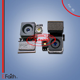 Back Rear 8MP Camera Flash with Flex Cable Genuine Replacement for iPhone 4s & Free Shipping