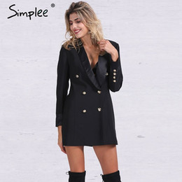 Discount Ladies Double Breasted Suit Jackets | 2017 Ladies Double ...