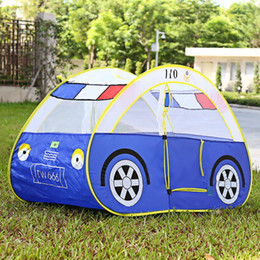kids folding toy tents cartoon car play tent portable outdoor indoor garden playhouse soft tents sports foldable play game tent