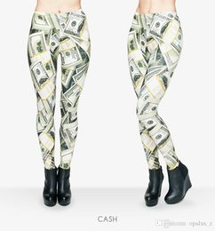 Wholesale 2017 Leggings nueva impresión de la aptitud para las mujeres Poliéster libre Leggins suaves pantalones leggings de yoga floral para el deporte de gimnasia de las mujeres Patrón de efectivo