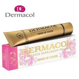 Dermacol Корректор Основа для макияжа крышки Праймер для лица маскирующее Фонд Контур Dermacol Макияж Фонд крем Свободная перевозка груза DHL
