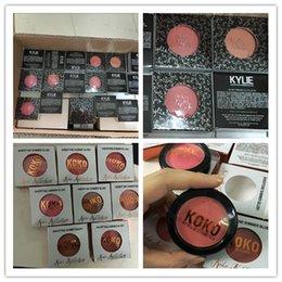 Natal 24pcs HOT KYLIE kolo kollection vs KY168 blush Maquiagem Face KY168 # Blush 8 cores diferentes 9g frete grátis.
