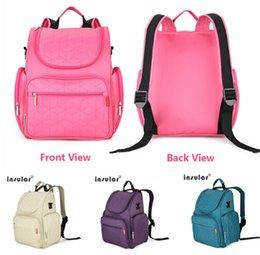 La vente en gros-Libre NOUVEAU sac en nylon multifonctionnel de poussette de bébé de sac à couches de maman de sac de couche-culotte de sac de couche-culotte sac à dos imperméable