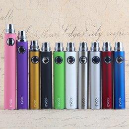 Electronic cigarette rechargeable batteries