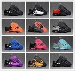 Discount shoes run air max Air Mens Sneakers Maxes Shoes 2017 KPU 3 Men Running Shoes Women Sports Maxes Trainer Air Cushion Surface Breathable Maxs Sports Shoes 36-47