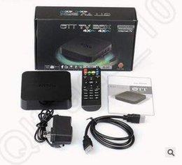 MXQ TV Box Amlogic S805 Cuádruple núcleo Cortex-A5 Mali-450 Cuádruple núcleo H.264 H.265 KODI 16,1 Pre-instalado VS MX Pro Android CCA5344 10pcs