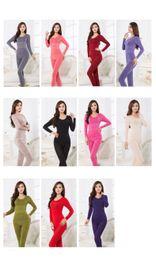 Мода зимы женщин профилировщика тела Держите теплые пижамы Различные стили Много цветов