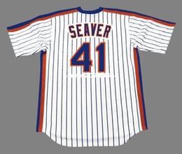 throwback tom seaver new york mets 1983 retro jerseys home embroidery mens baseball .