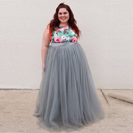 Discount Plus Size Pink Maxi Skirt | 2017 Plus Size Pink Maxi ...