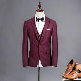 Discount Mens Business Suit Vest | 2017 Mens Business Suit Vest on ...