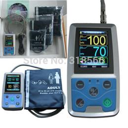 Взрослый детский 24-часовой амбулаторный монитор кровяного давления Холтер ABPM2 с 3 манжетами BP Holter