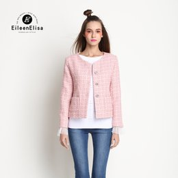Womens Pink Coat Wool