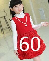 online shopping fashion new autumn winter girl dress warm dress baby kids clothing