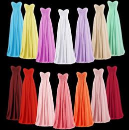 Vestidos de dama de honor 2017 vestido de fiesta de la boda nunca bastante sin tirantes elegante luz azul baratos vestidos de dama de honor largos