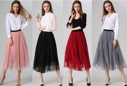 White Pleated Midi Skirt Online | White Pleated Midi Skirt for Sale