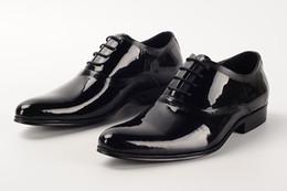 Discount Mens Black Patent Dress Shoes | 2017 Black Patent Leather ...