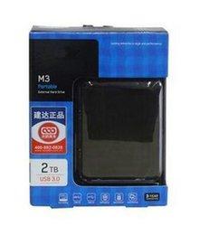Свободный переносной внешний жесткий диск USB3.0 2.5TB M3 портативный
