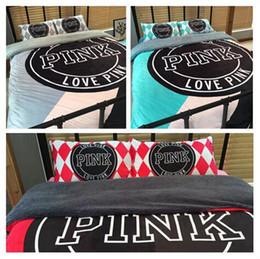 Ropa de cama de color rosa Ropa de cama de color rosa Ropa de cama de color rosa Ropa de cama de terciopelo VS ropa de cama Textiles para el hogar OOA1106