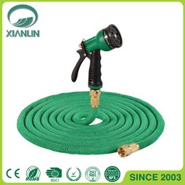 online shopping 2017 New Expandable Flexible Hose Water Garden Pipe with Pattern Sprayer FT FT FT FT