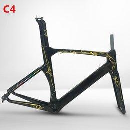 Новая модель Concept T1000 Toary углерода дорожный велосипед пост Рама Вилка сиденья гарнитура Гонки кадров Велосипед Frameset XXS / XS / S / M / L / XL