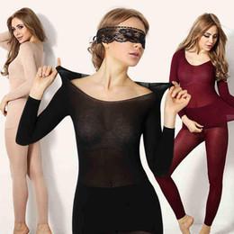 2017 год Горячая зима 37 градусов Женщины похудения Термобелье Костюм Ультратонкие тепла Лонг Джонс Упругие Бесшовные кузова