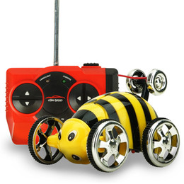 wholesale remote control 3ch 360 degrees roll car rc electric mini car rc remote control stunt car toy best gift for kids children fci