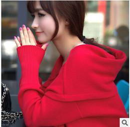 Wholesale En gros automne cardigan chandail de coton de nouvelles femmes tricoté long chandail de cardigan lâche couleur rouge noir outwear
