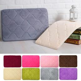 Wholesale-40*60 Memory Foam area Rug the bathroom rugs slip-resistant mats