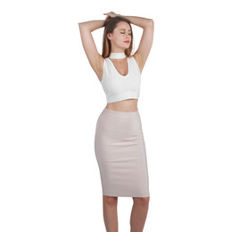 Discount Long Brown Pencil Skirt | 2017 Long Brown Pencil Skirt on ...