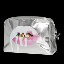 2017 Кайли Дженнер праздник сумки Косметика макияж мешок ограниченное коллекционное издание праздник для Chirstmas подарок DHL освобождает перевозку груза